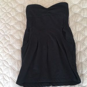 Black Tube Top Dress Size M NWOT MUST GO